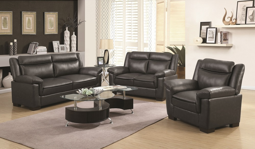 Coaster Arabella Collection - 2 Piece (Sofa + Love Seat) or 3 Piece Set  (Sofa + Love Seat + Chair)