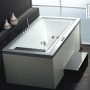 Ariel Platinum  Whirlpool Bath Tub 75.6 x 44.8