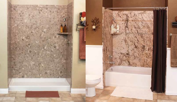 Bathrooms : Royale - TUB or Shower SURROUND KIT (60x36x78) 5 Stock ...